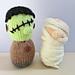 Frankenstein and Mummy pattern