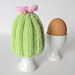 Cactus Egg Cosy pattern