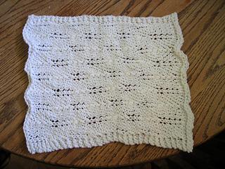 fir cone lace cloth