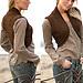 98-38 Vest with textured pattern pattern