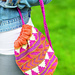 Patterned Drawstring Bag pattern