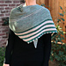 The Stripe-on-Stripe Shawl pattern