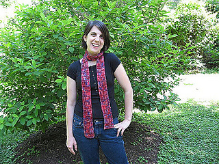 Artfibers Drop Stitch Scarf