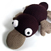 Nathan the Platypus pattern
