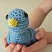 Amigurumi Georgina the Tiny Bird pattern