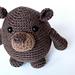 Amigurumi Phil the Groundhog pattern