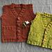 Hobbit Vest (with pocketses) pattern