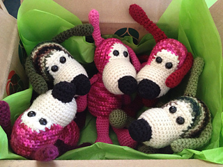 Dog Collection Free Crochet Patterns   240x320