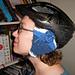 Bike Helmet Ear Warmers pattern