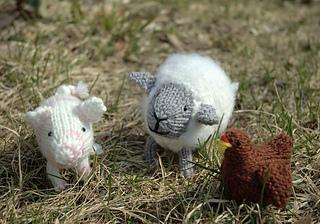 Fuzzy farm friends