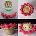 Magical Flower Child Flip Flop Basket pattern