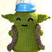 Yoda baby bottle cozy pattern