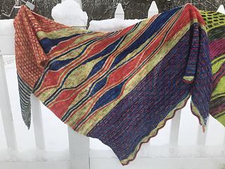 Knit with Gaea Creations Tori Sock