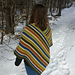 Six Stripe Poncho pattern