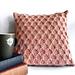 Lattice Point Knit Pillow pattern