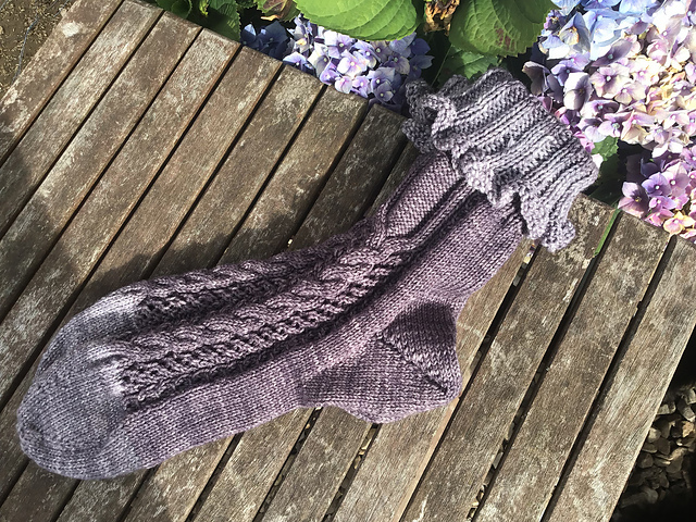 On the Other Foot Socks by Sarah Alderson and Ann Kingstone
