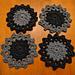 Crochet Drink Coaster pattern