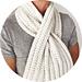 simple keyhole scarf pattern