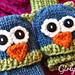 Smitten Mittens Fingerless Owl & Cat Mittens pattern