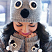 """""""Care to Cuddle?"""" Koala Hat and Fingerless Gloves pattern"""