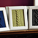 """""""Cable Panels"""" Knitted Wall Art pattern"""