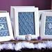 """Fair Isle Flurries"" Knitted Wall Art pattern"