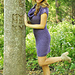 """""""Cowl Me Maybe"""" Textured Cowl Neck Dress pattern"""