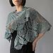 Monica - floral lace shawl pattern
