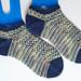 Magician's Shortie Socks pattern