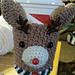 Reindeer cup cozy pattern