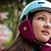 Buckman Neighborhood Bicycler's Outfit - Helmet Ear Cozy pattern