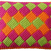 Around the World Rectangle Entrelac pattern