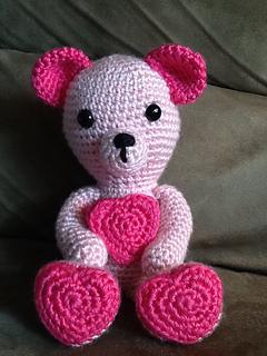 ours de saint valentin – Carmen Crochet | 320x240