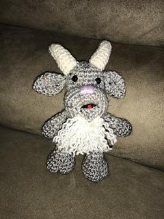 Crochet Billy Goat, Crochet Goat, Photography Prop, Stuffed Animal ... | 320x240