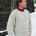 # 991 Neck down Pullover for Men pattern