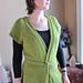 # 114 Cap Sleeve Wrap Cardigan Vest pattern