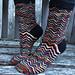 Puffin Socks pattern