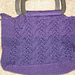 Cables and Lace Handbag pattern