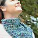 Airy cowl pattern