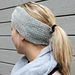 Pearl Stitch Headband pattern