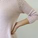 Nr 11 Genser med mønster på skuldrene pattern