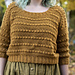 The Goldfinch Sweater pattern