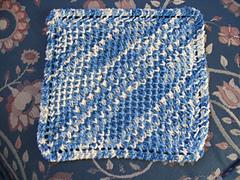Diagonal Bee Stitch Cloth