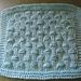 Hob Nail Dish/Wash Cloth pattern