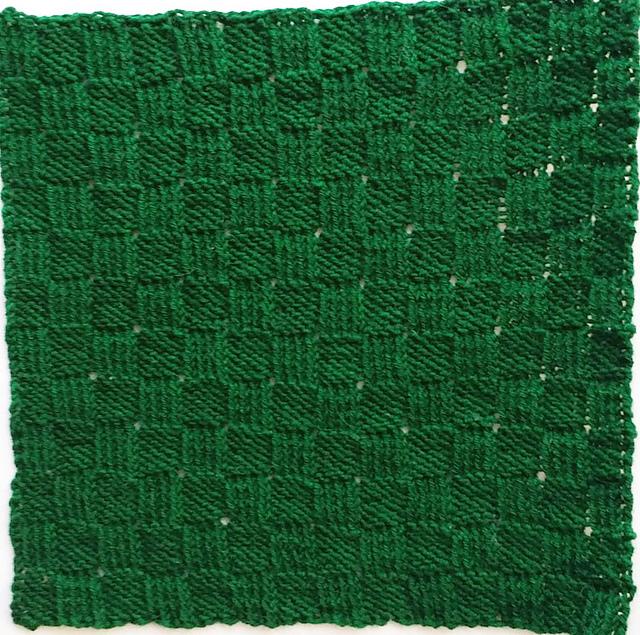 Twisted Basketweave Block by Judy M. Ellis, Handiwords Ltd LLC