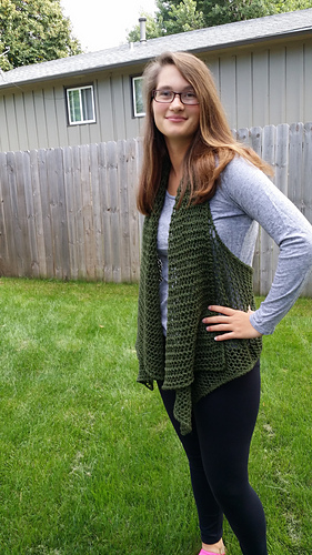 Rectify Vest by Judy M. Ellis, Handiwords Ltd LLC !!}