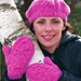Berry and Vine Hat and Mittens pattern