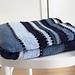 Jeanie Coastal Stripy Blanket pattern