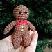 Gingerbread Man Christmas Ornament pattern