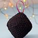 Lump of Coal Ornament pattern